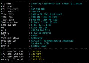nambah memory linux